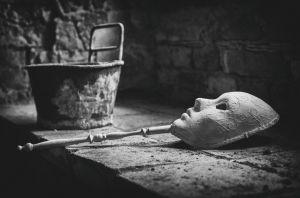 Forgotten Mask By Roswitha Schleicher-Schwarz
